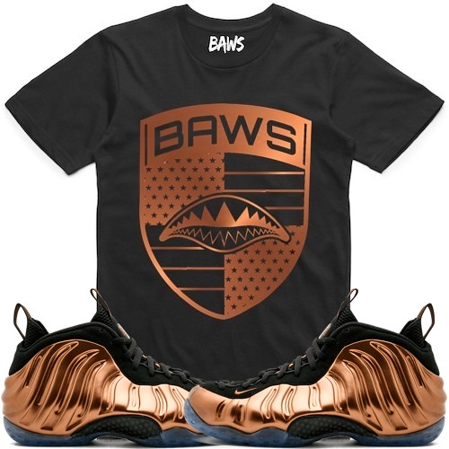 b7f3c9eef4e247 ... Copper Foamposites Foams t-shirts sneaker tees