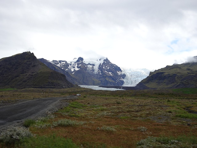 Looking Towards the Glacier