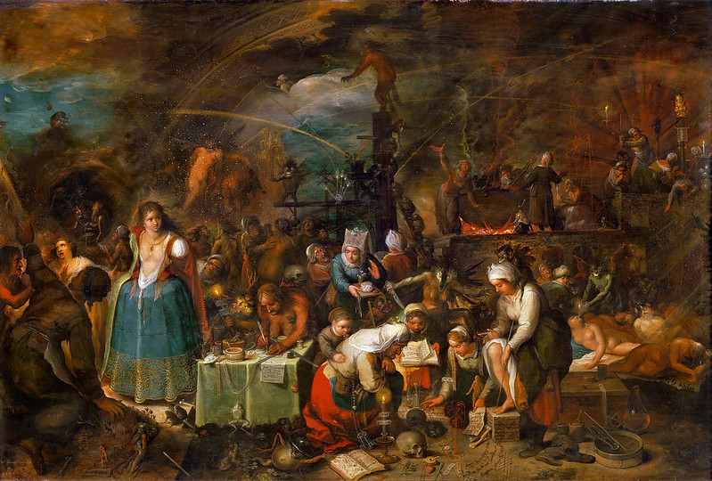 Frans Francken the Younger - Witch  Assembly
