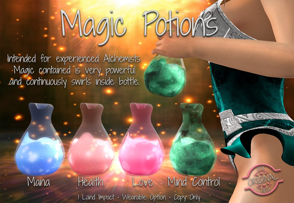 Magic Potions :: L$10 Gift @ Fable 2 - SecondLifeHub.com