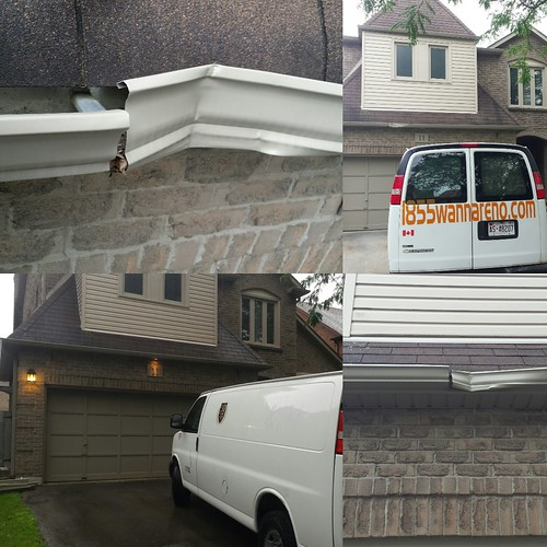 Eavestrough repair in Whitby #eavestroughcleaning #eaveatroughrepair #eavestroughdurham #eavestroughwhitby #eavestroughajax #eavestroughpickering #eavestroughoshawa #eavestroughcleaning #seamlesseavestrough #eavestrough www.1855wannareno.com