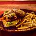 Pastor Burger with Fries por migueldunham
