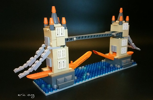 My second build for the brick  separator challenge.  The Kayu Kingdom Tower Bridge  #KayuBrickSeparator