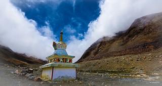Tibetan stupa...