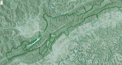 Cumberland Gap online map