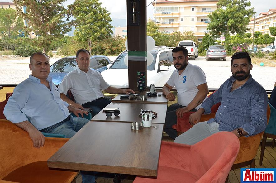 İlhan Yener, Kerim Mamak, Süleyman Karakoç, Hikmet Ayder