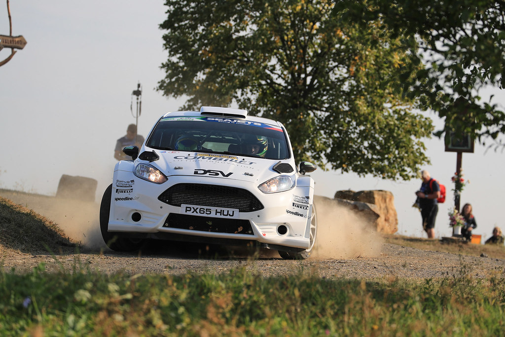 12 MOFFETT Josh (IRL) FULTON James (IRL) Ford Fiesta R5 action during the 2017 European Rally Championship ERC Barum rally,  from August 25 to 27, at Zlin, Czech Republic - Photo Jorge Cunha / DPPI
