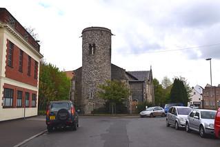 St Mary Coslany, the urban context