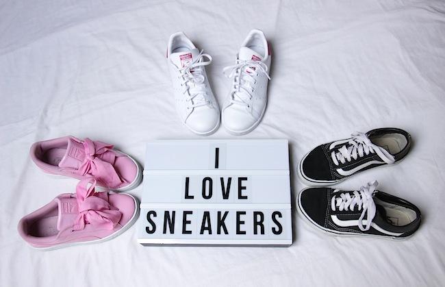 Ma folie des sneakers !!!