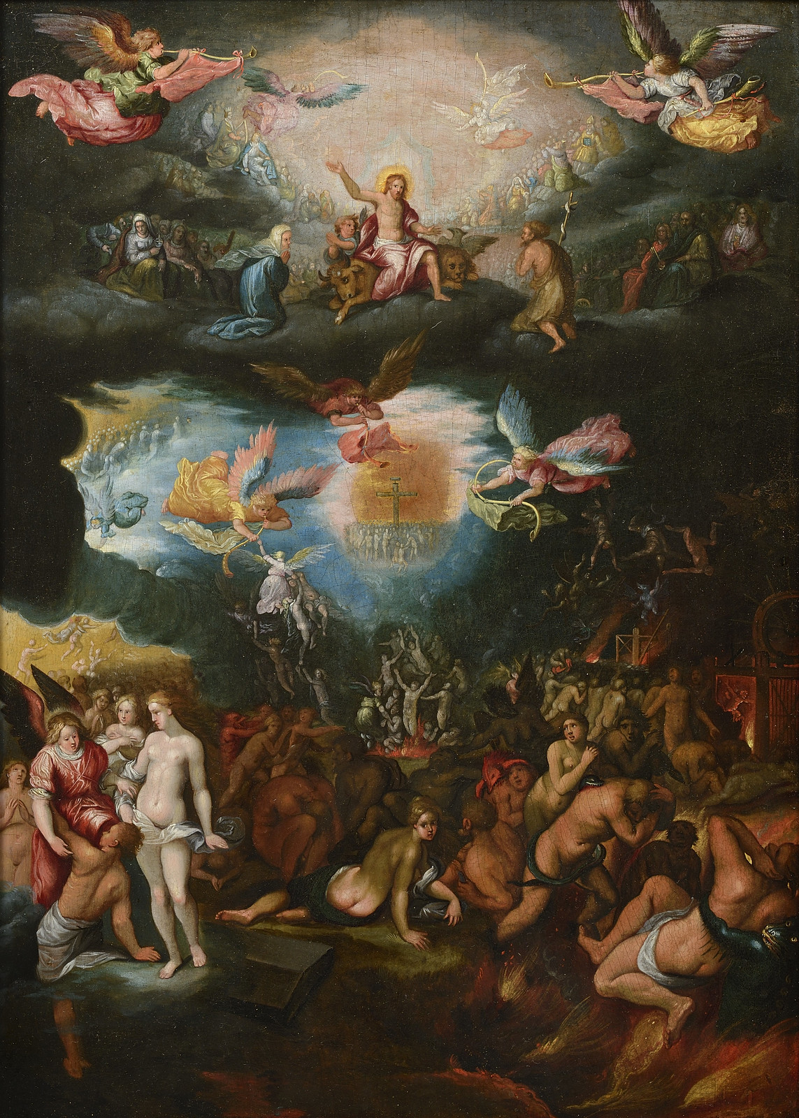 Frans Francken the Younger - The Last  Judgement, after 1619