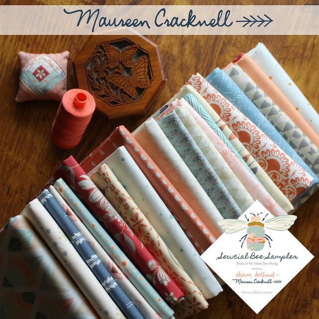 Maureen Cracknell 20 FQ Giveaway!