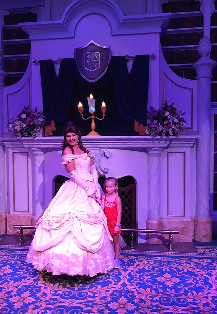 Disney day 2 meeting belle