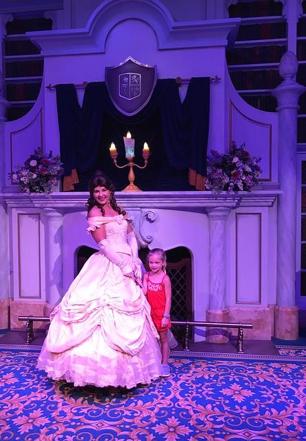 Disney day 2 meeting belle