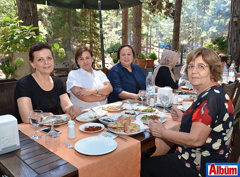 Saime Ergün, Ümran Kamburoğlu, Senay Aydıncı, Fatma Sadullahoğlu