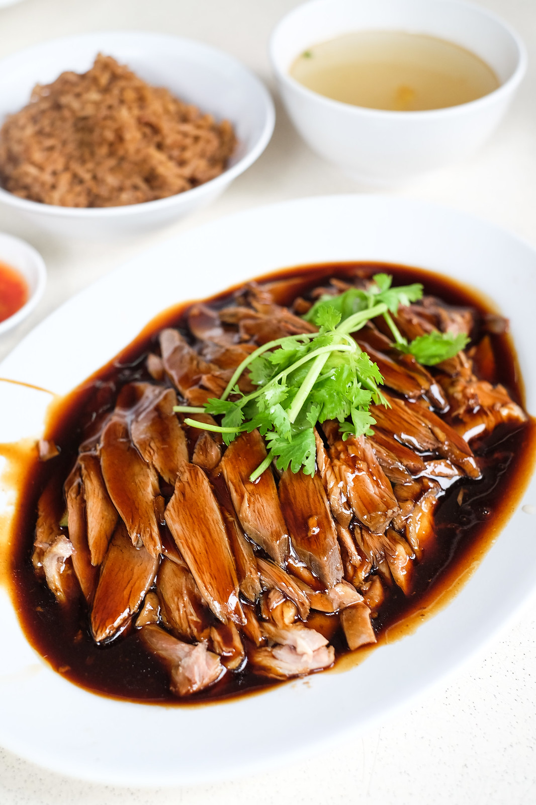 Braised Duck Rice: South Buona Braised Duck