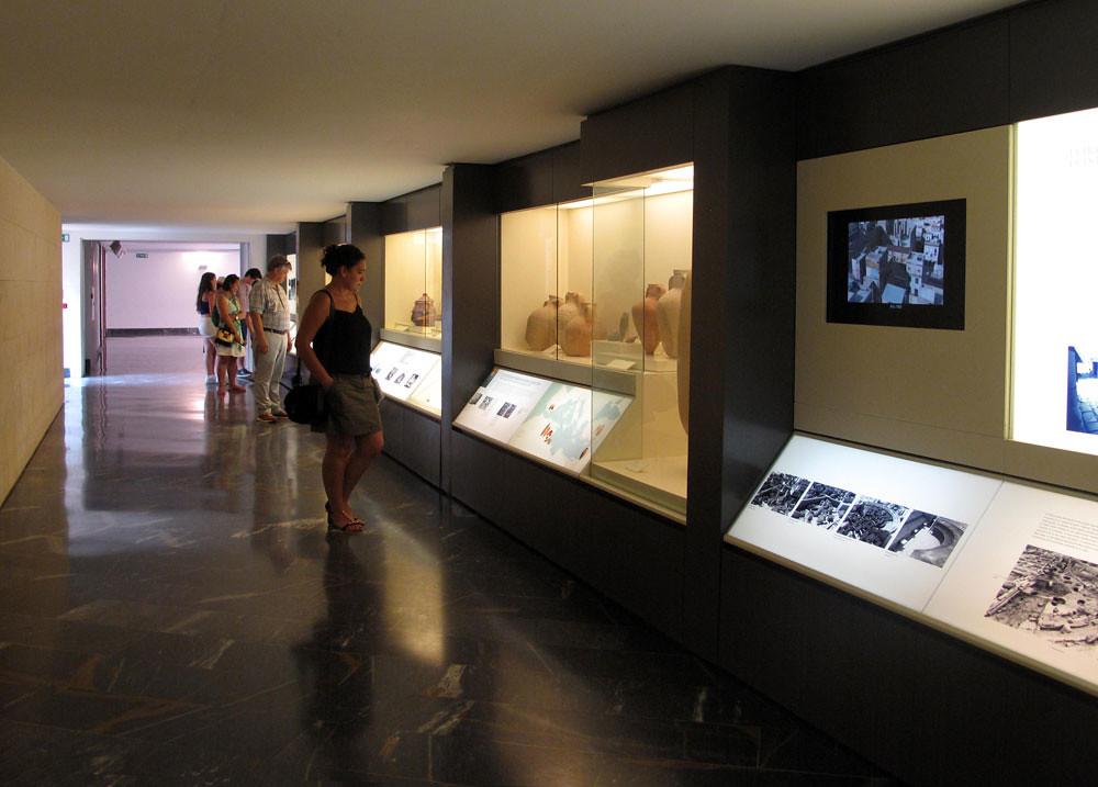 museo teatro cartagena_patrimonio_rafael moneo_sala evolución histórica