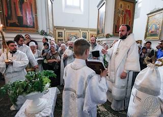 Литургия в Хутынском монастыре 640