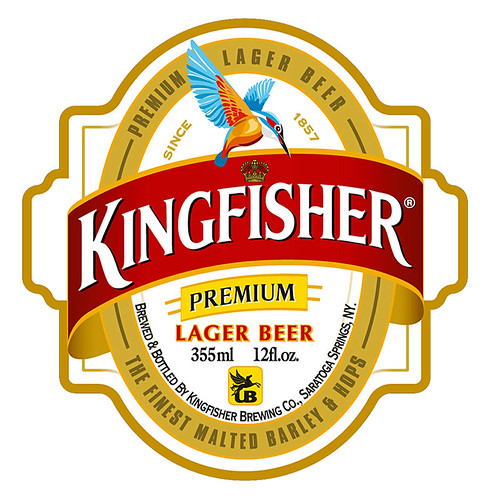 India: Kingfisher. From A Beer Tour of Asia