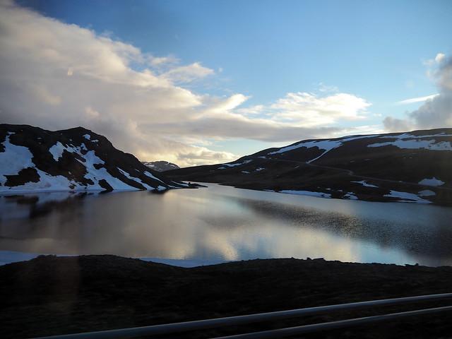 Reflejos en el fiordo