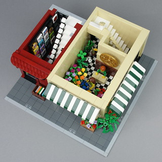 LEGO Modular Buildings: Flower Shop And Music Store