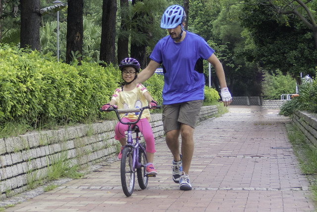 Cycling lesson progression