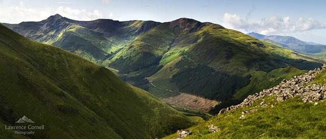 A Scottish landscape., Nikon D200, Sigma 18-200mm F3.5-6.3 DC
