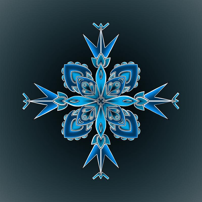 Mandala Snowflake