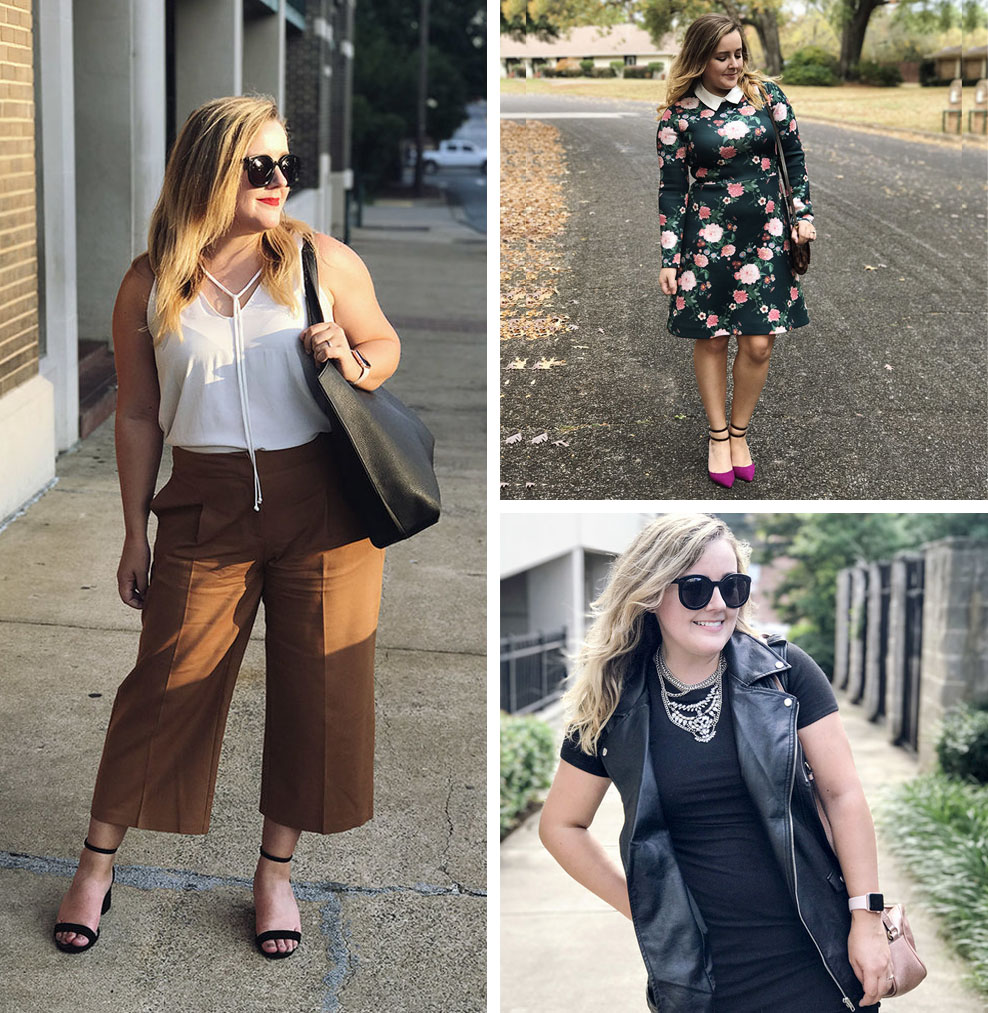 9 Mid-Size Fashion Bloggers (AJ - AJ Wear Clothes)