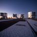Paranal platform after sunset (H.H.Heyer/ESO)