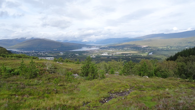 Výhled na Fort William