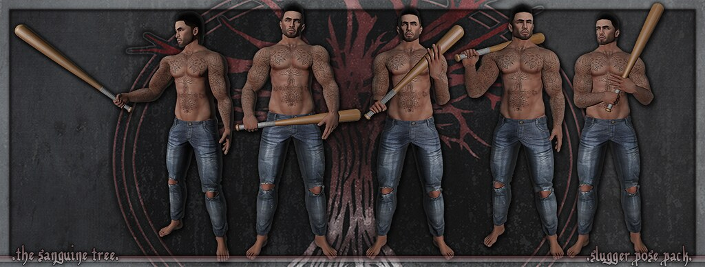 [ new release – slugger pose pack ] - SecondLifeHub.com