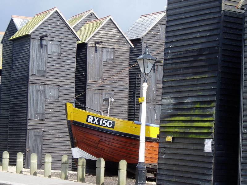 Fishermans Huts