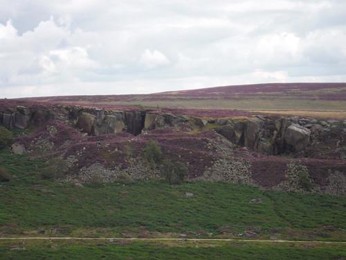 Burbage Rocks from near Carl Wark