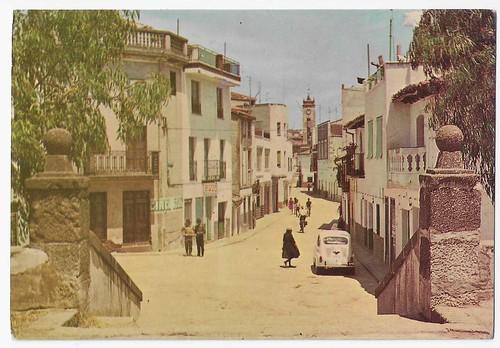 Navalcán(Toledo) : calle principal