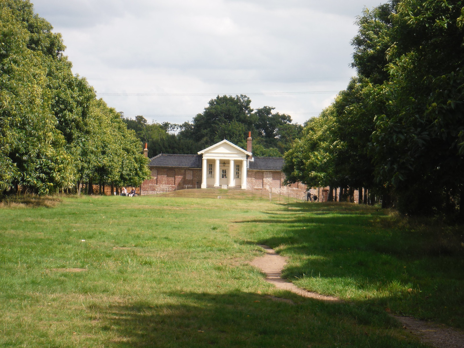 The Temple from closer by SWC Walk Short 11 - Wanstead Park