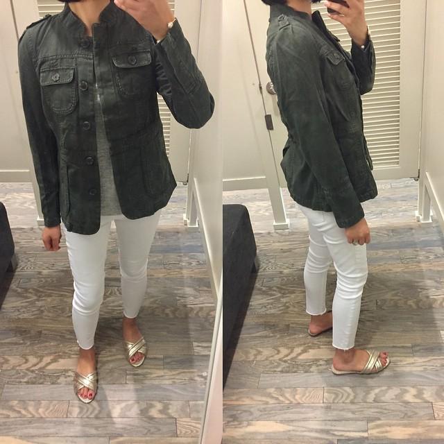 LOFT Twill Jacket, size XSP