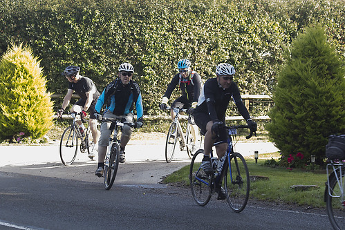 Rotary Dorset Bike Ride 2017 Start