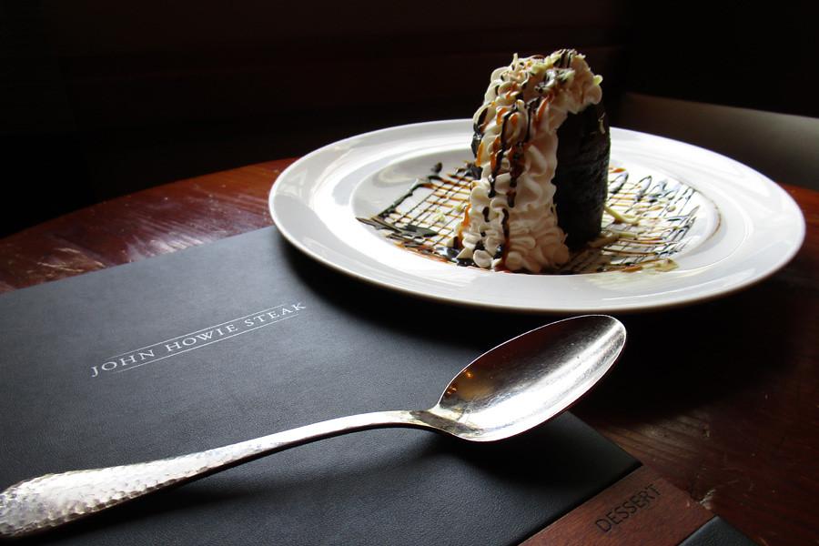 John Howie Steak - Semi-Sweet Chocolate Volcano Cake | Bellevue.com