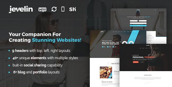 Jevelin v2.4.12 – Multi-Purpose Premium Responsive WordPress Theme
