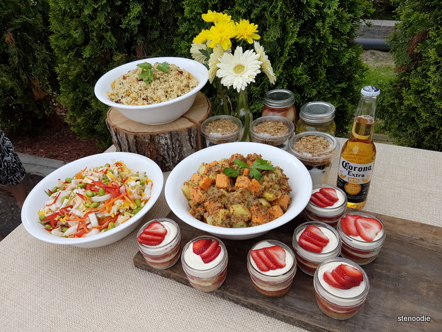 L-eat Catering food spread