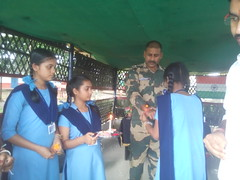 Rakshabandhan Celebration at Bangladesh Border