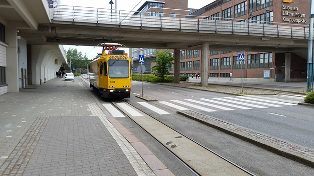 Tram Cleaning