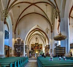 im Innern der Stadtkirche St. Marien