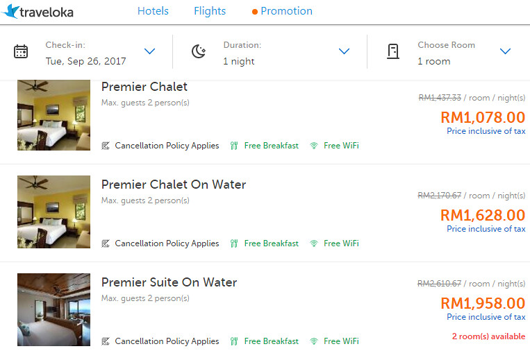 Berjaya Langkawi Resort Prices