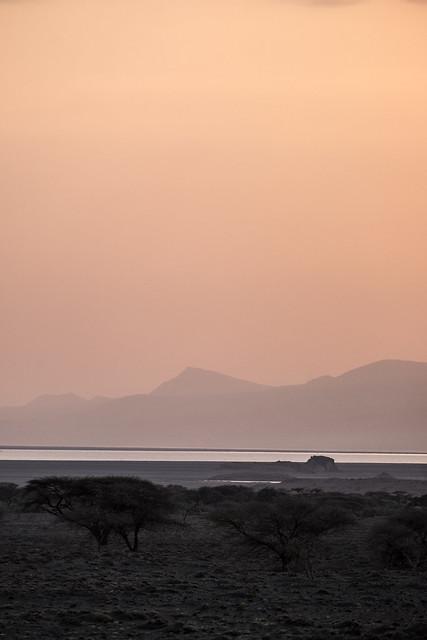 Sunrise at Natron, Fujifilm X-T1, XF55-200mmF3.5-4.8 R LM OIS
