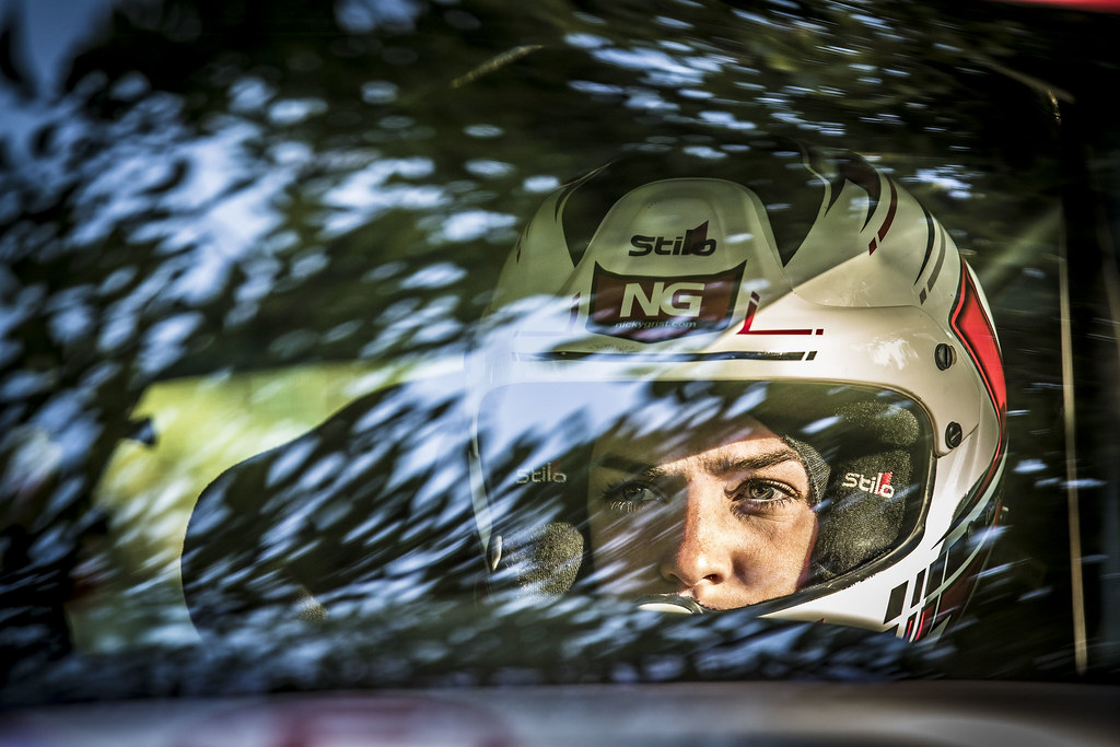MUNNINGS Catie (GBR) STEIN Anne Katharina (AUT) Peugeot 208 R2 ambiance portrait during the 2017 European Rally Championship ERC Barum rally,  from August 25 to 27, at Zlin, Czech Republic - Photo Gregory Lenormand / DPPI