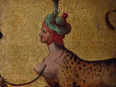 ALLORI Alessandro,1572 - Dossier de Lit avec Sc�nes Mythologiques et Grotesques, L'Enl�vement d'Europe (Florence) - Detail 02