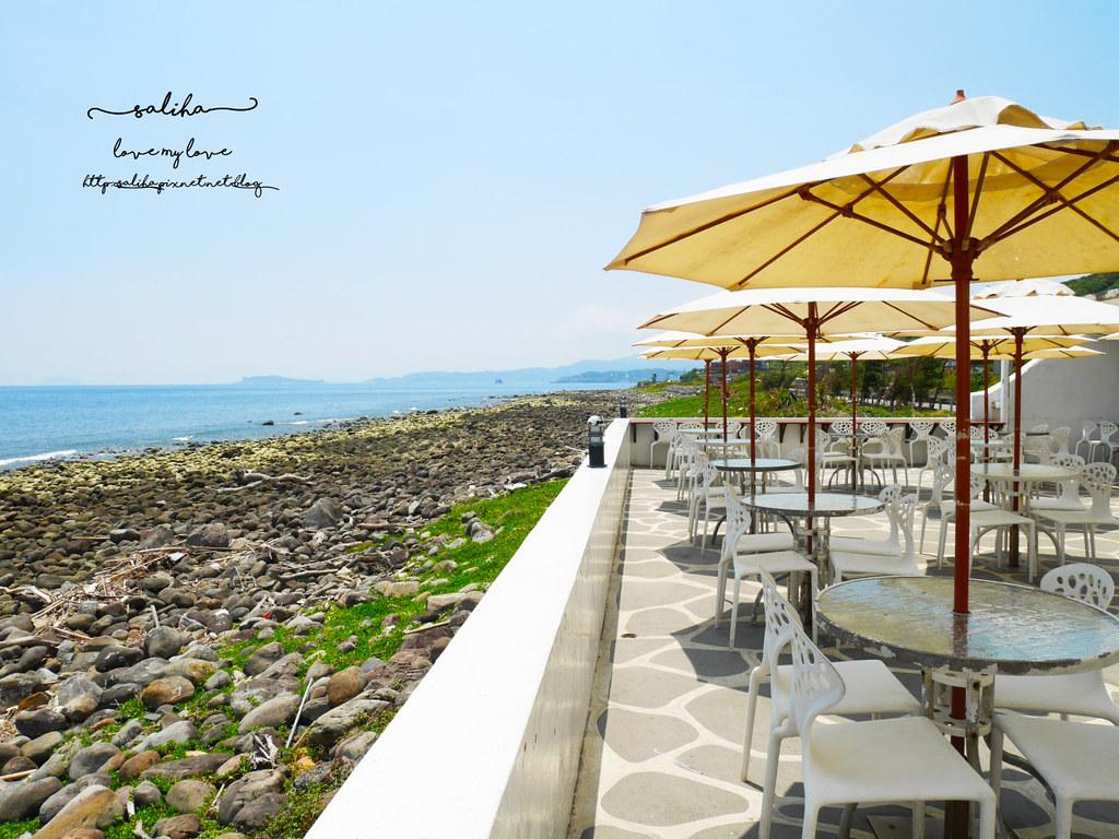 新北金山北海岸海景餐廳推薦洋荳子海邊咖啡館 (23)