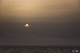 Eclipse in Lanzarote