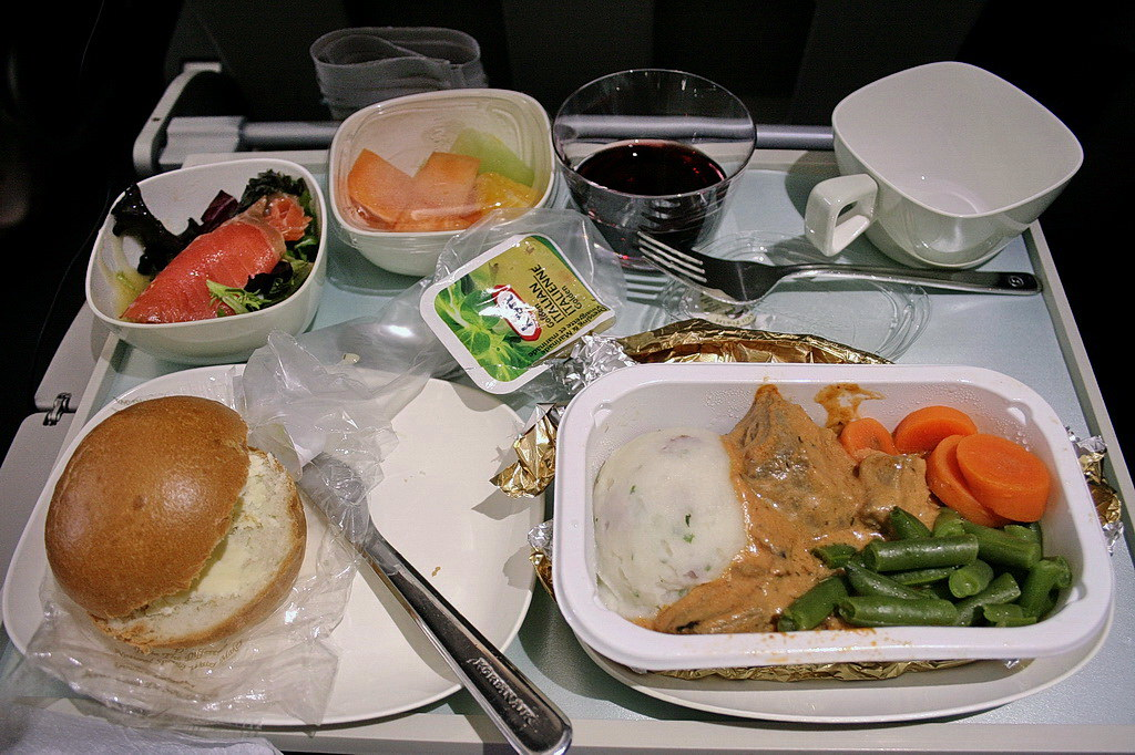 Korean Air in-flight meals (1)